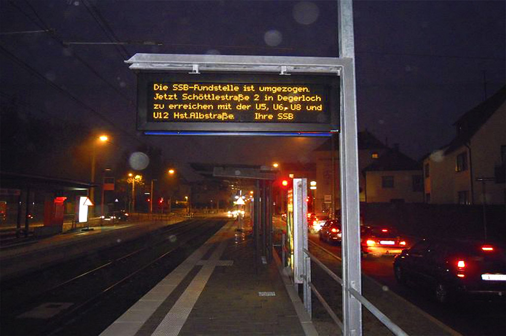 PPID (Platform Passenger Information Display)