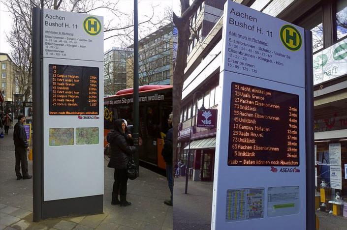 Totem (Totem Passenger information Display)