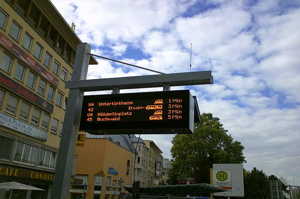 Passenger information Displays